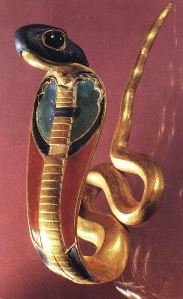 A Uraeus Which Is A Stylized Upright Form Of An Egyptian Cobra