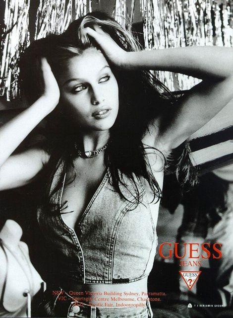 ca61365a2276d9 Laetitia Casta for Guess Jeans (90s) | Laetitia Casta | Laetitia ...
