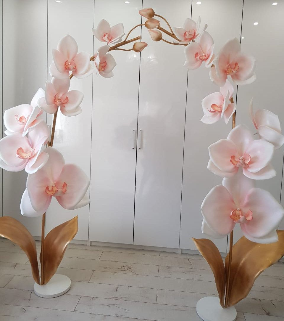 Giant Paper Flower-Foam flowers-orchid-giant flowers-Premium Quality flowers-Luxury foam Flowers #giantpaperflowers