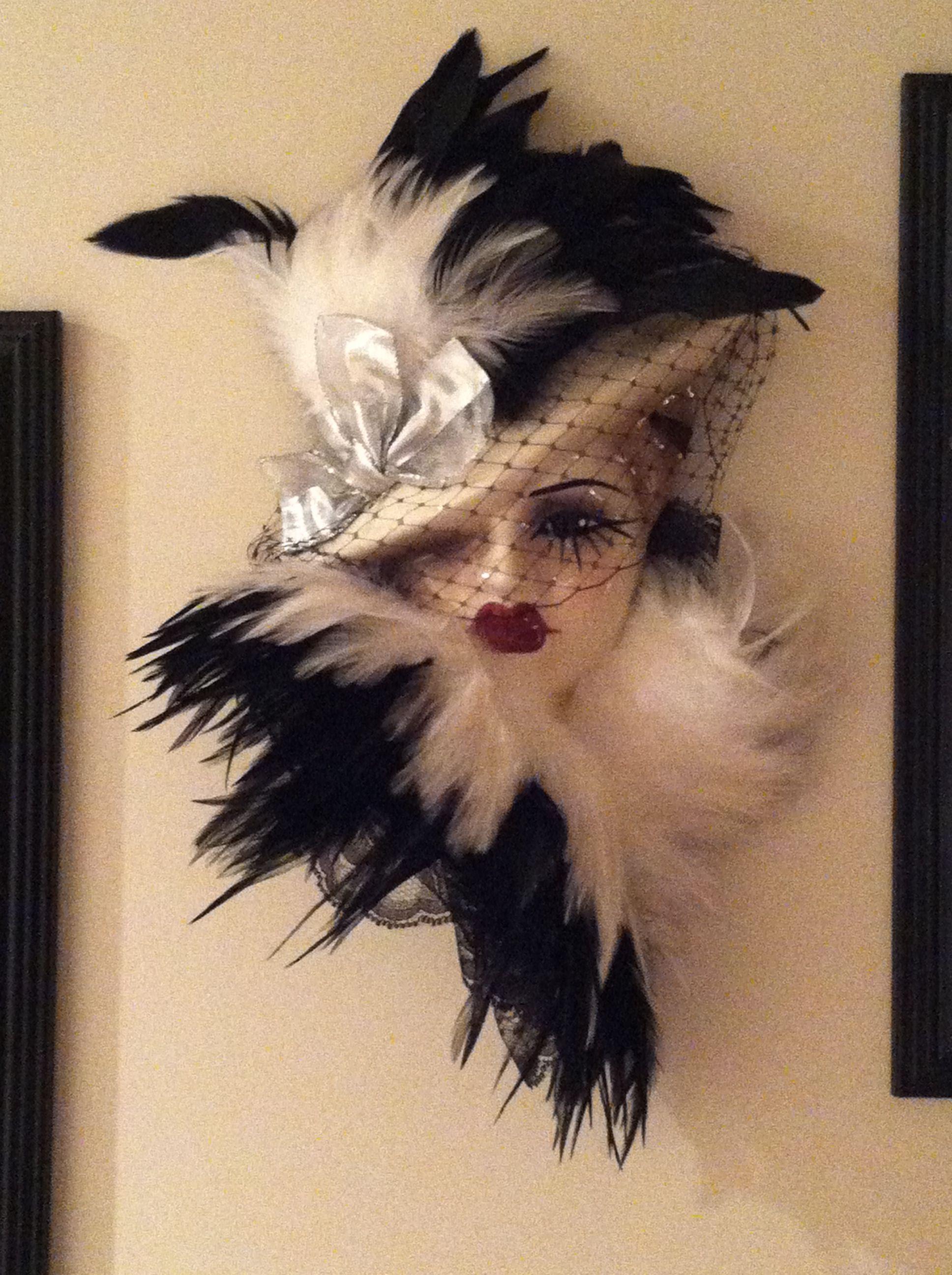 Mask Decoration Ideas Impressive Porcelain Feathered Mask Love This Decoration Idea  Porcelain Design Inspiration