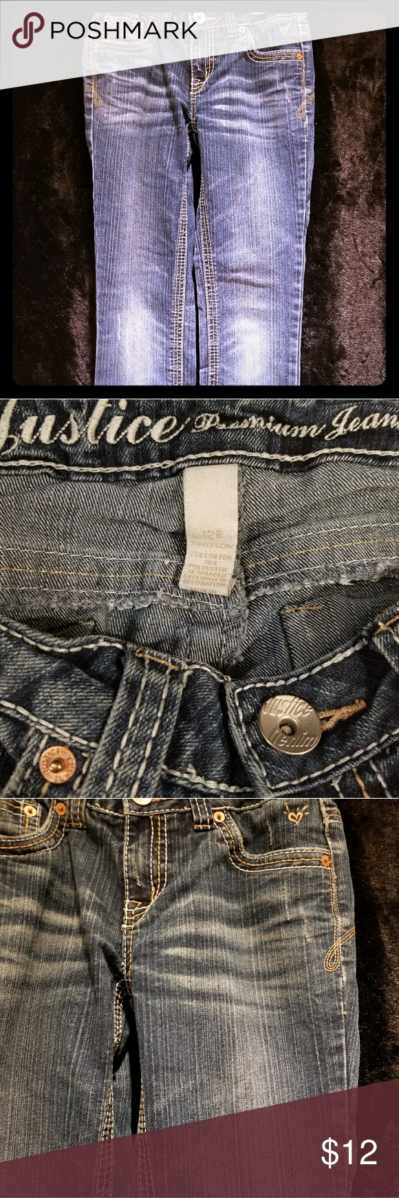 Justice Jeans Girls 12 Regular Fashion Fashion Trends Girls Jeans