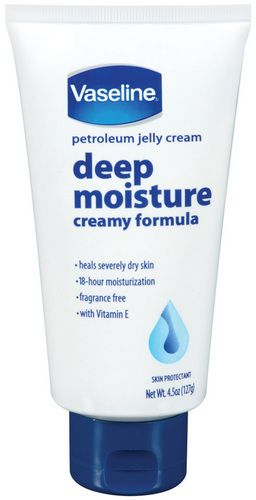 Vaseline Petroleum Jelly Deep Moisture Creamy Formula Tube To