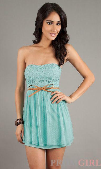 Vestidos hermosos cortos de verano