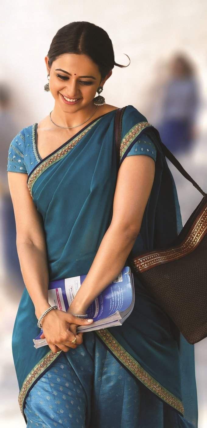 Rakul Preet Singh Actress Pinterest Saree Indian