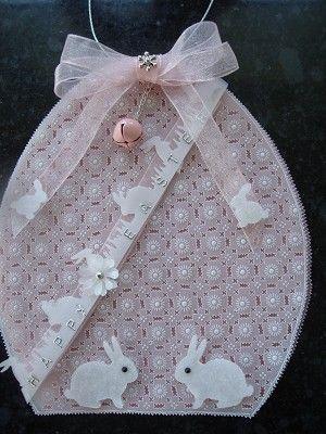Voorbeeldkaart - Happy Easter 2011..... - Categorie: Pergamano - Hobbyjournaal uw hobby website