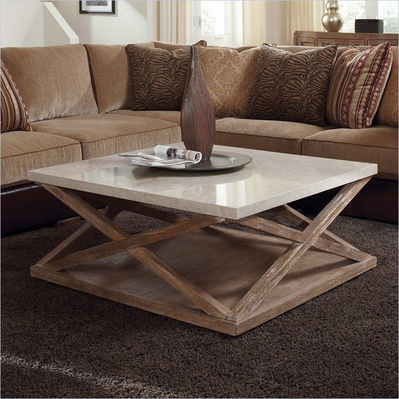 Square Wicker Coffee Table