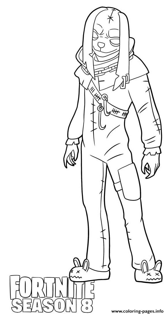 Fortnite Chapter 2 Rippley Coloring Pages Printable Vozeli Com