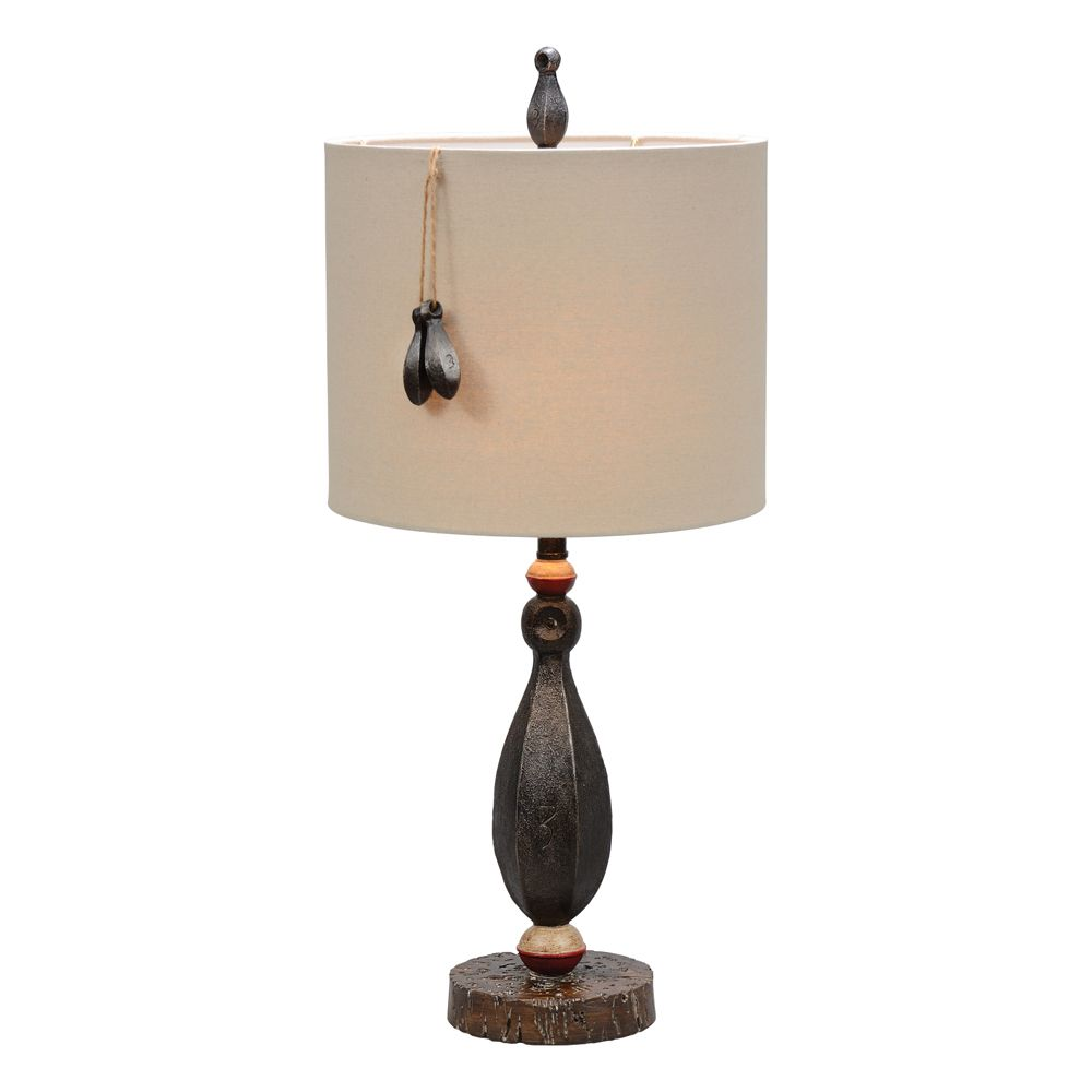 Fishing Weight Table Lamp Lamp Rustic Table Lamps Rustic Lamps