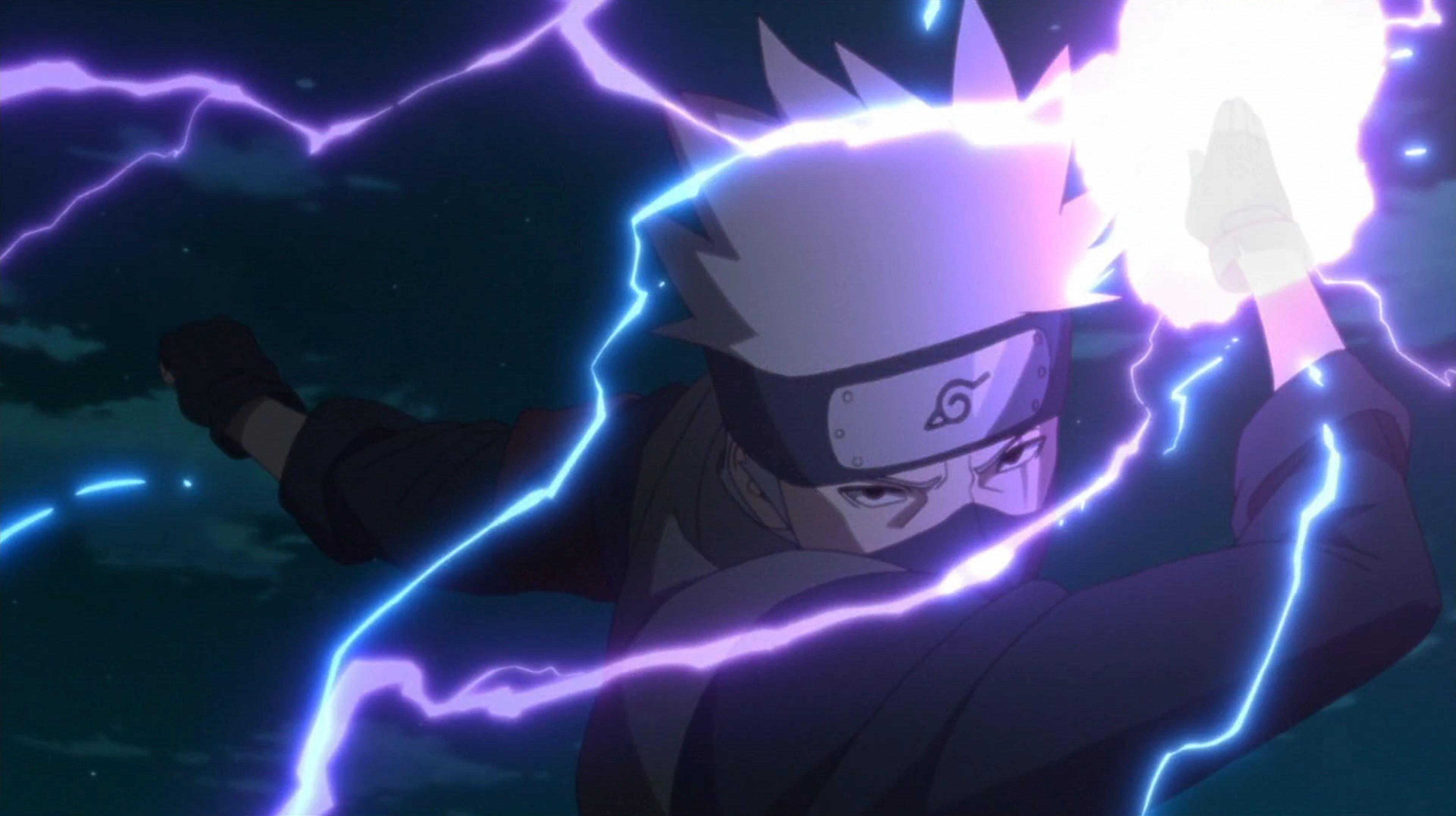 Essa E A Verdade Por Tras Do Raio Purpura De Kakashi Em Naruto