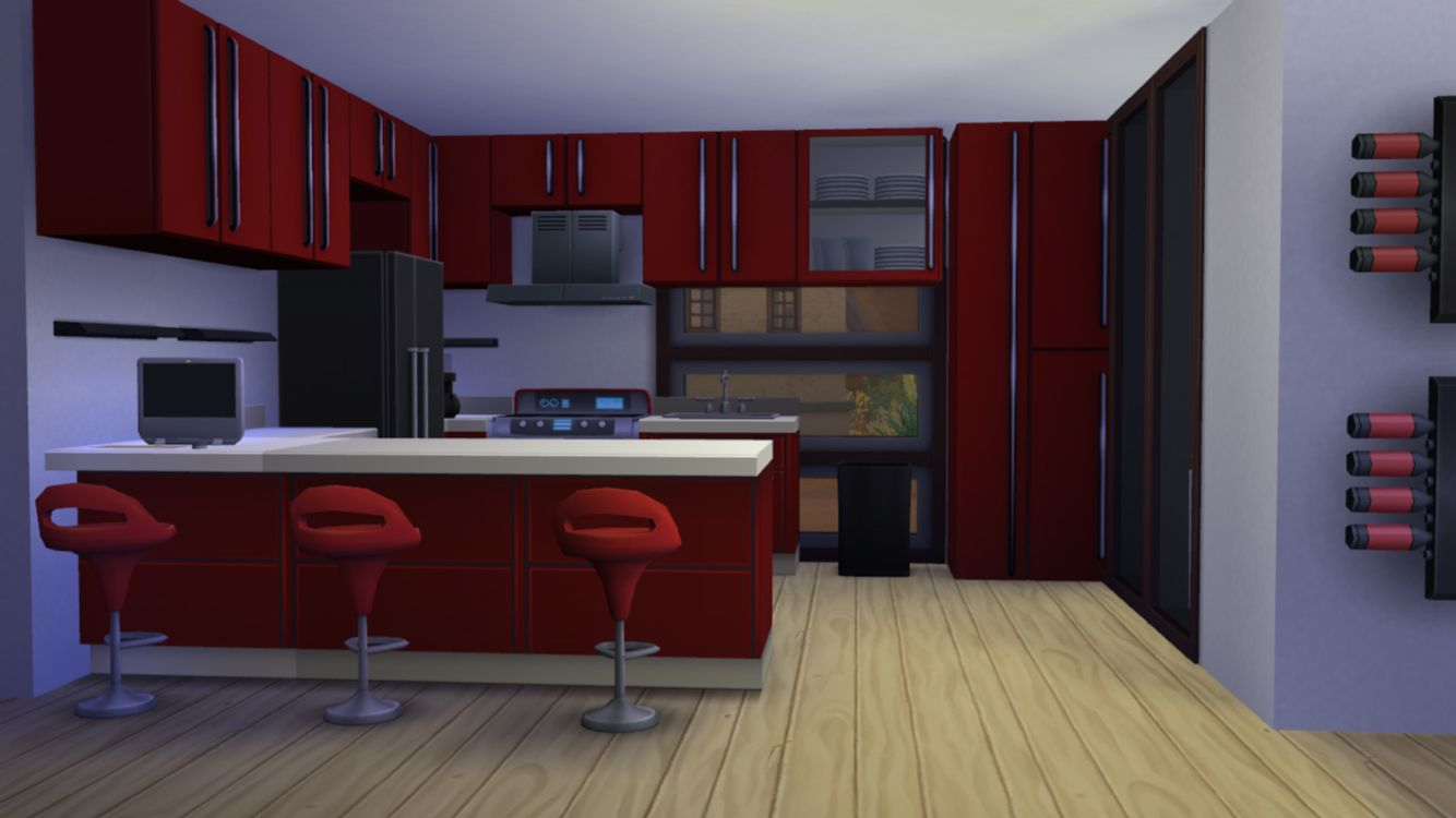 Kitchen   Sims 4 house building, Building a house, Sims 4 ...