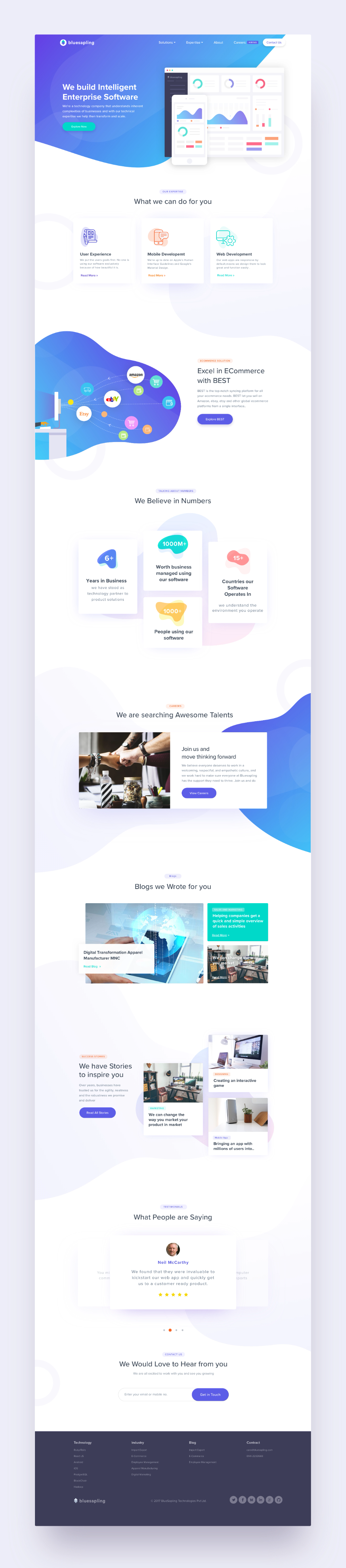 Dribbble Landing Page Attachment Png By Harsh Vijay In 2020 Web Design Website Template Design Web Layout Design