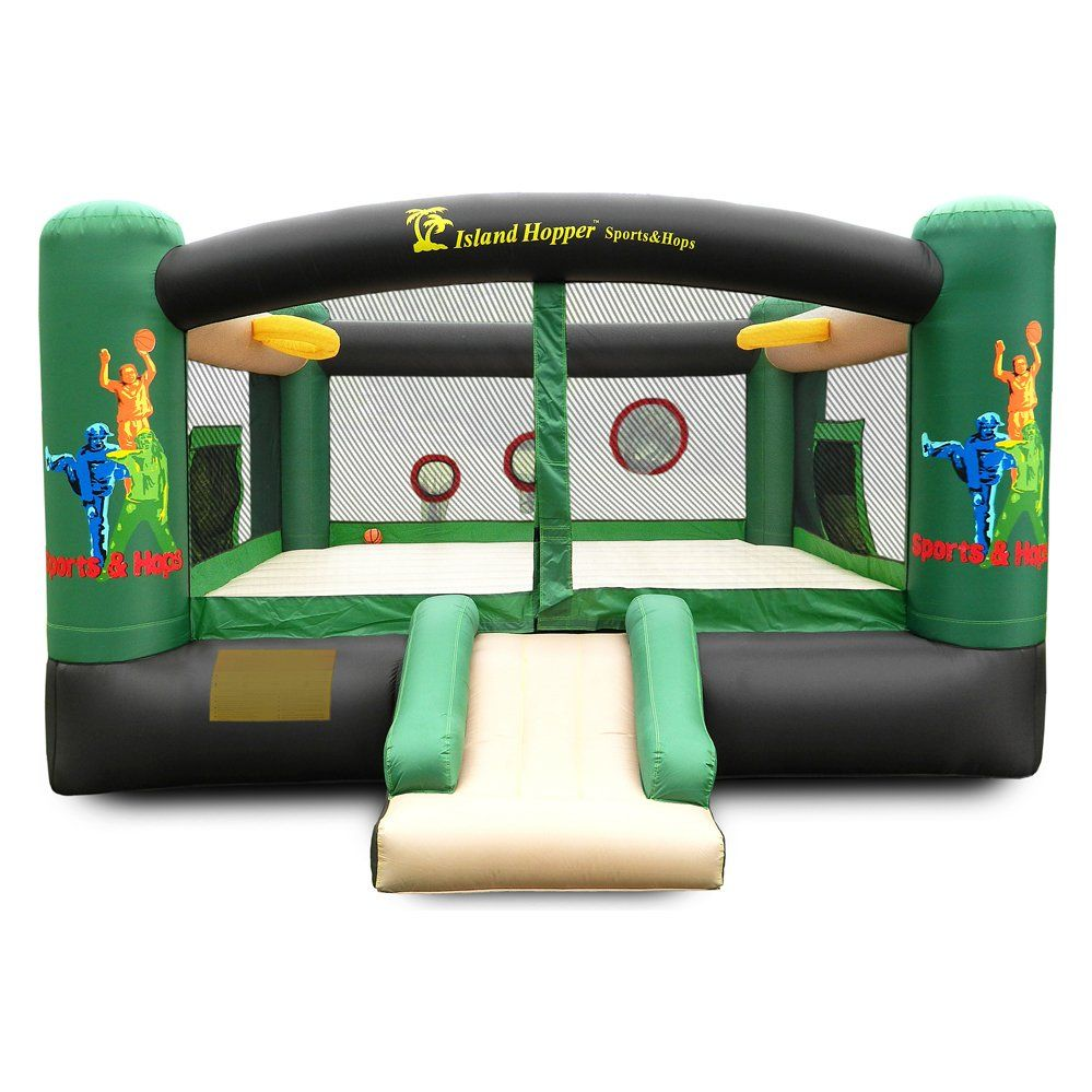 sports n hops bounce house by island hopper bounce houses now