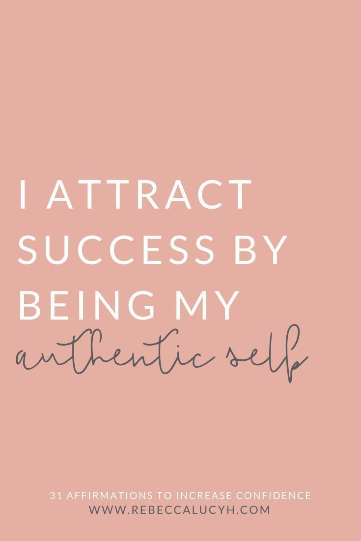 31 Affirmations to Increase Confidence — Rebecca Hawkes • Confidence Coach UK