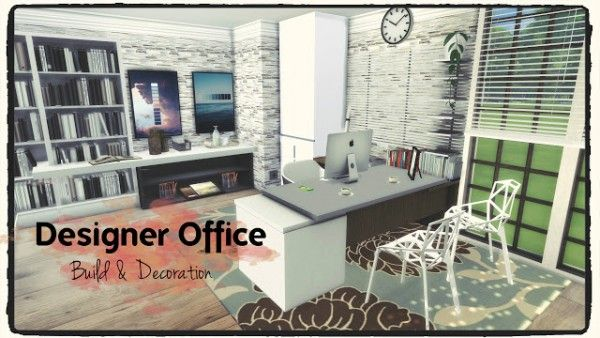 Sims 4 Cc Furniture Offices