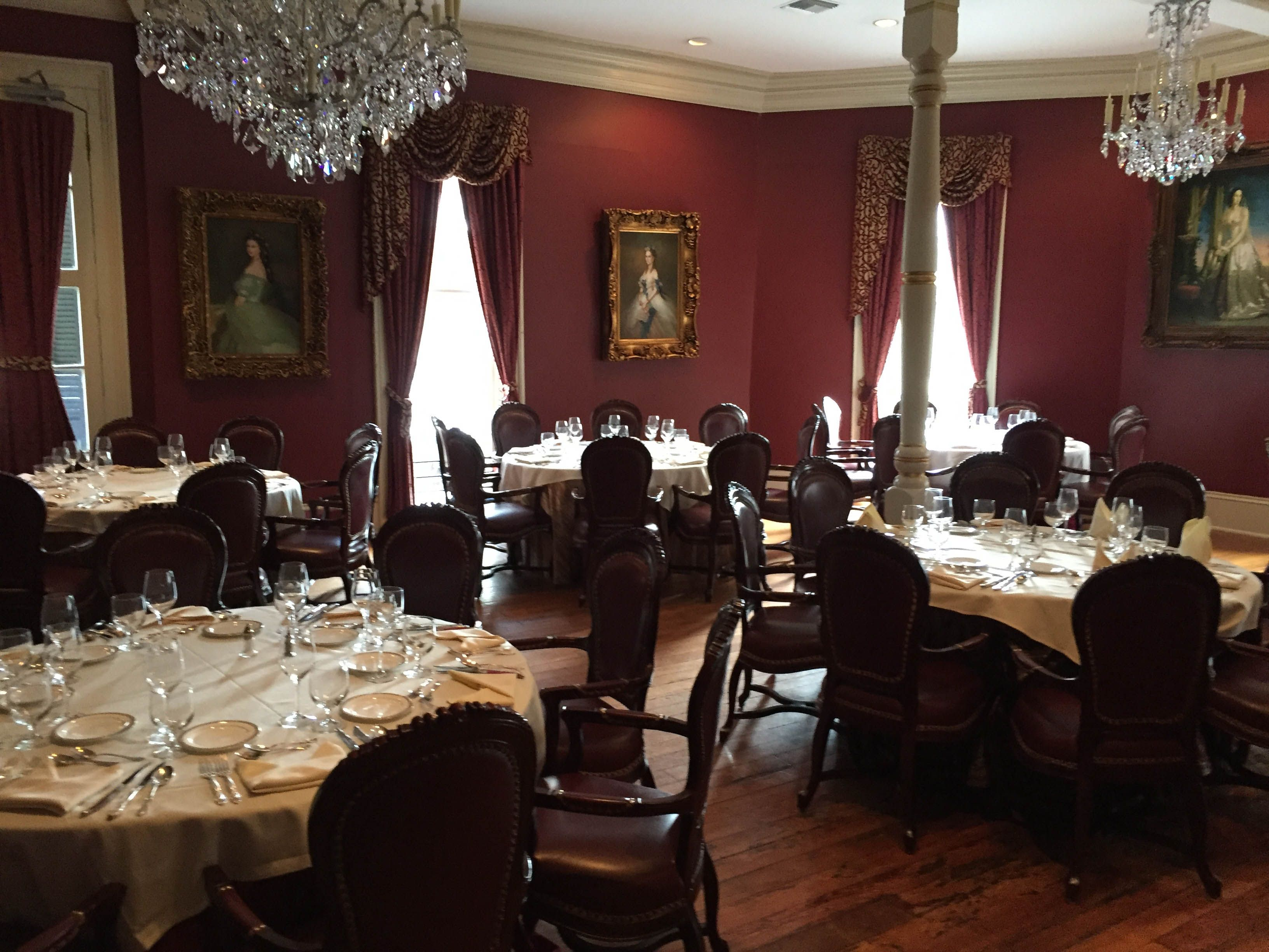 Private Dining Rooms New Orleans The Three Intimate Each Have