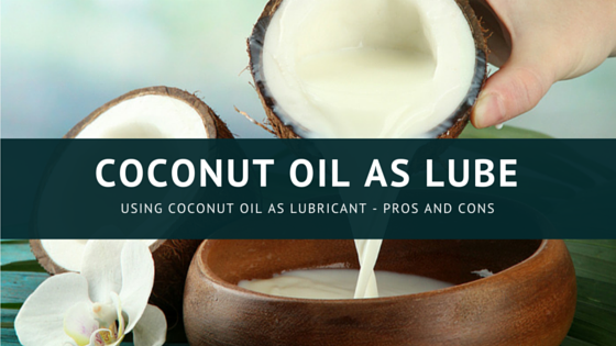 Coconut oil for vaginal dryness
