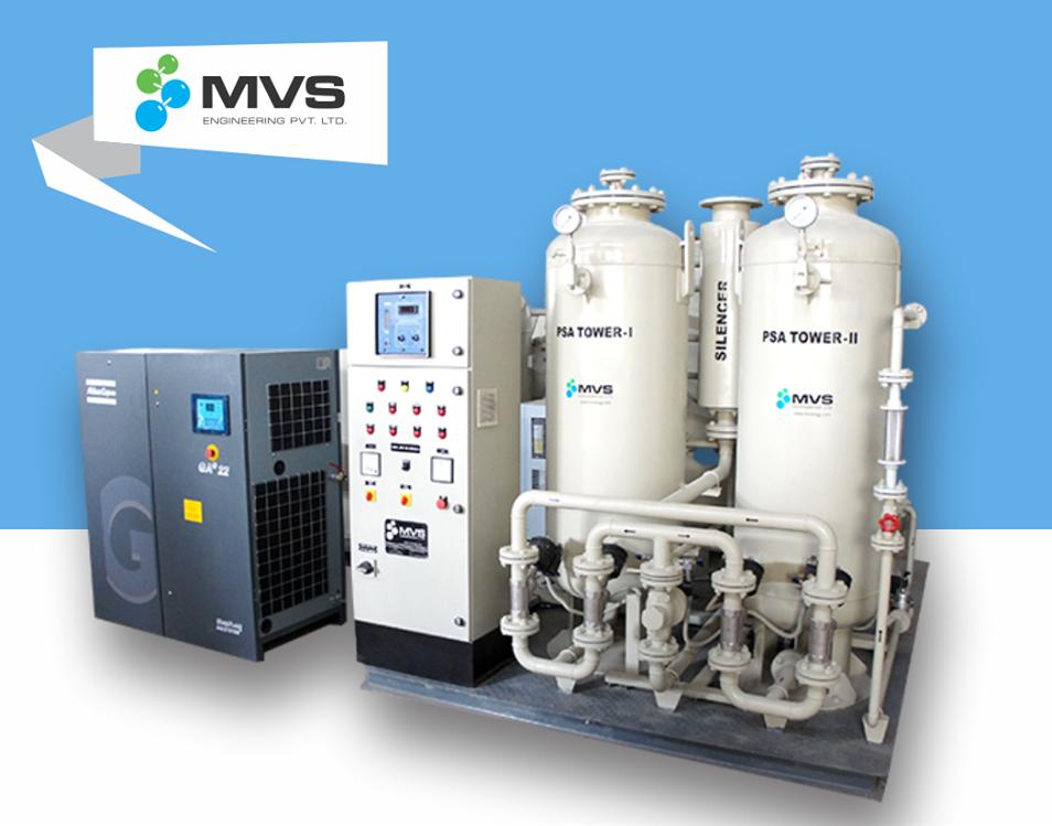 MVS & CarboTech CMS Nitrogen Gas Generators Gas