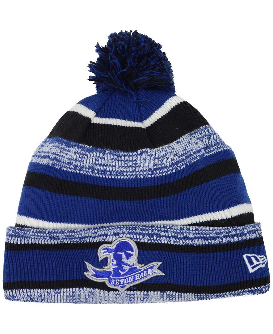 New Era Seton Hall Pirates Sport Knit Hat  afc7ccb917a4