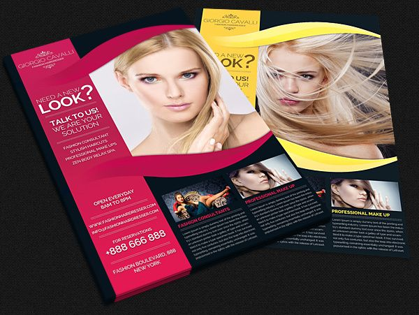 salon flyer - Google zoeken Salondingetjes Pinterest - hair salon flyer template