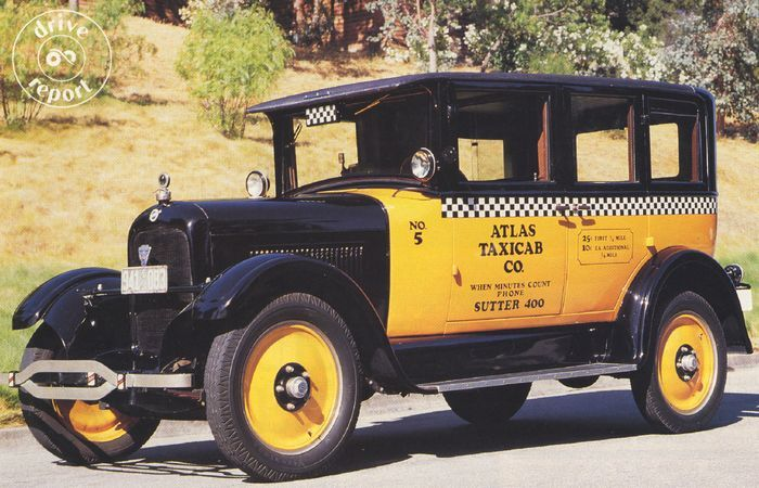 SIA Flashback – Rides For Rent: 1926 Studebaker Taxi