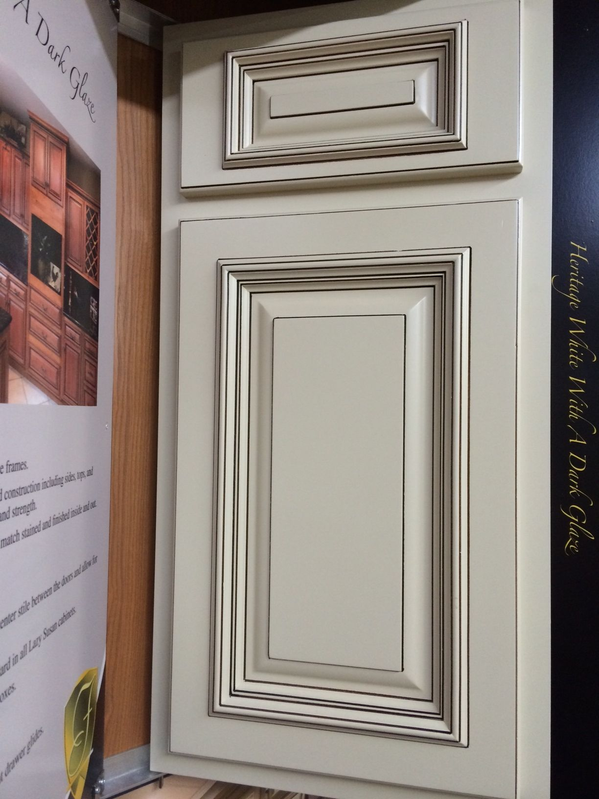 Heritage White Kitchen Cabinets is now a stocking cabinet - Pick ...