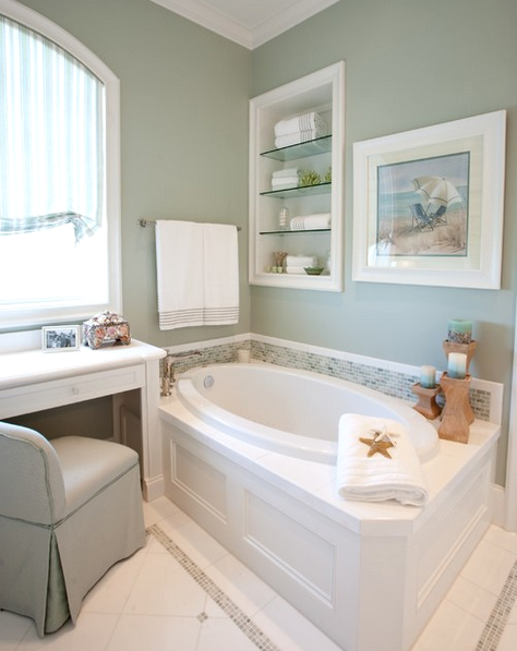 7 Traditional Coastal Bathrooms All In The Same Home