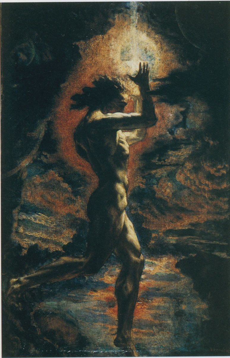 Prometheus 1907 Jean Delville | ART | Pinterest | Jean ...