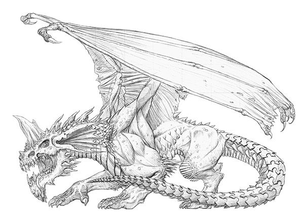A6a47612768905 5626cd8404c06 Jpg 600 427 Dragon Coloring Page Monster Coloring Pages Blue Dragon