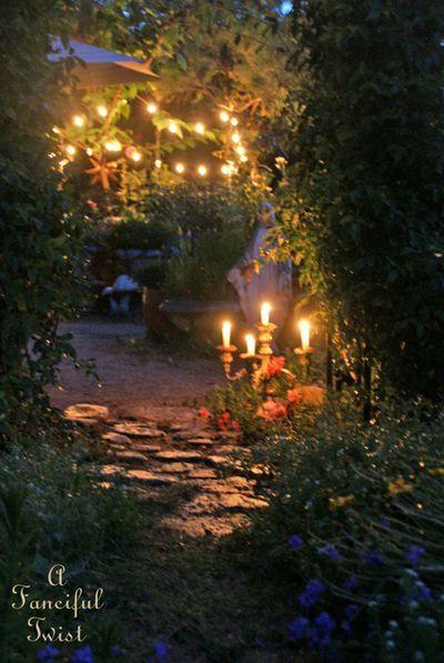 Summer Magic 1 Magical Garden Witch Garden Night Garden