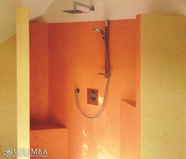 Fugenloses Bad Material diese dusche bereichert ein fugenloses bad auch edelputze aus marmor