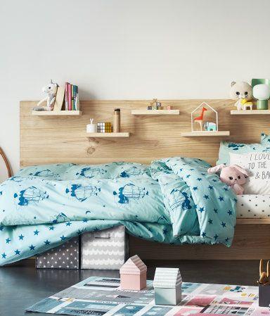 Baumwollteppich mit Motiv Multifarben/Stadt H&M HOME