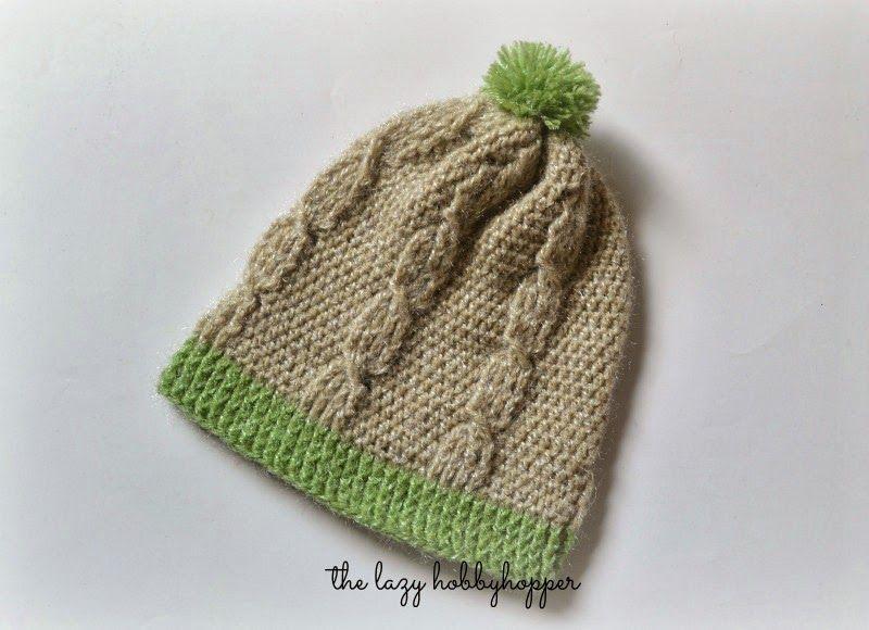 The Lazy Hobbyhopper: Crochet cable stitch hat - free pattern ...