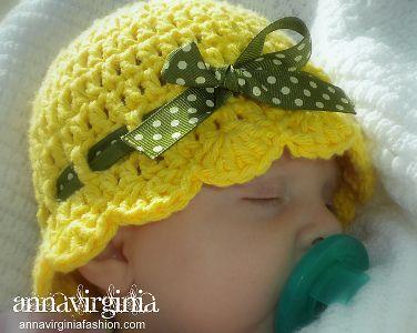 10+ Fab Art DIY Crochet Girl s Sun Hat with Pattern  31a6d921bb7