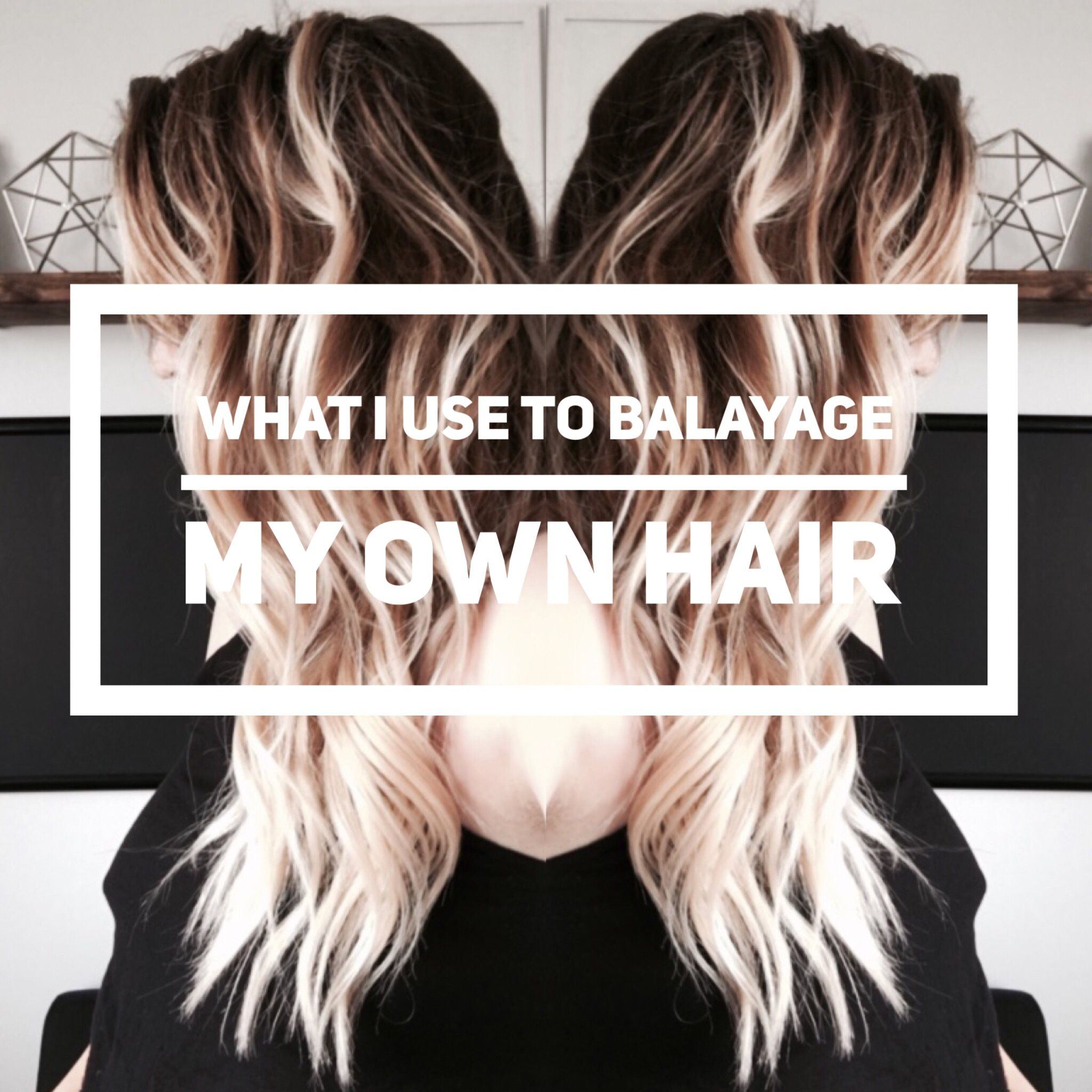 How to do balayage by yourself
