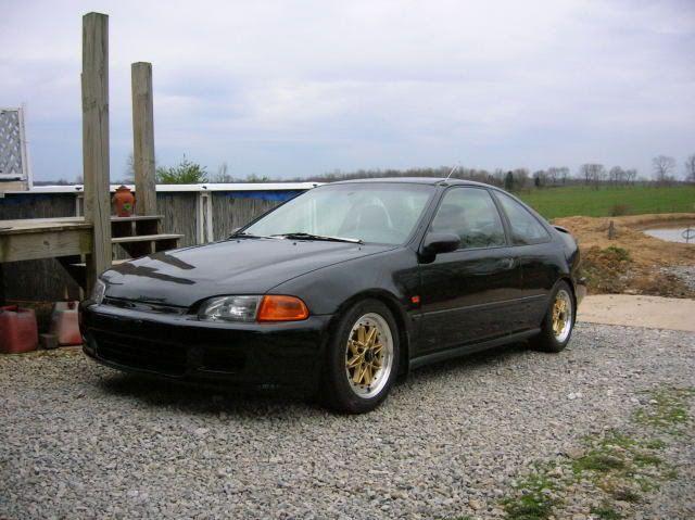 Modded Honda Civic With B16a Engine B16a Civic Modded