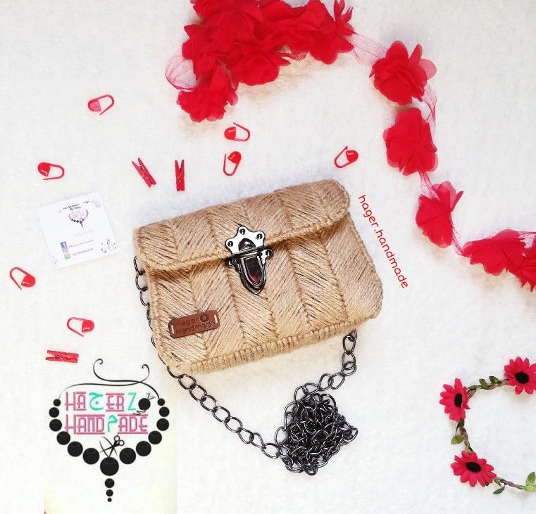 Burlap Embroidery Bag Crochet Bag Pattern Bag Pattern Embroidery Bags