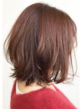 デジタル パーマ セミロング ミディアムパーマの髪型・ヘアスタイル特集!デジパ・強めからゆるふ...