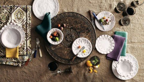 Great Lazy Susan from Horchow.