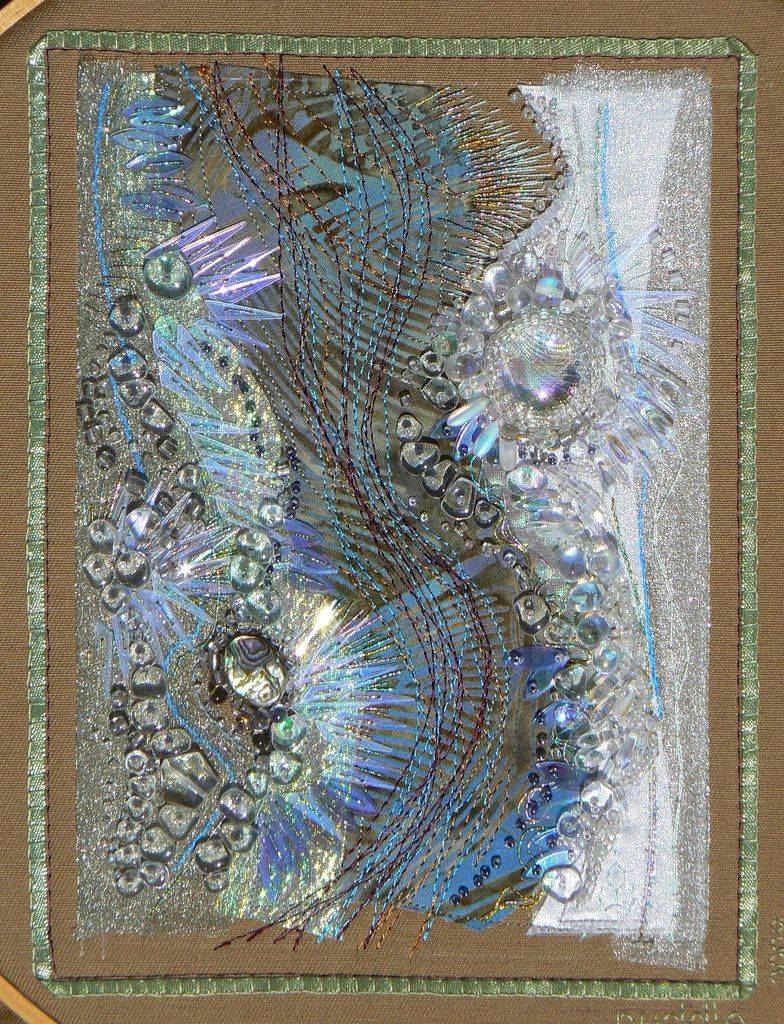 Carol walker fiber art embroidery and fabric