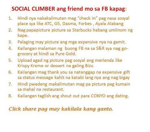 Social Climber Friend Hahahah Tawanan Portion D Pinterest Interesting Hugot English About Friends