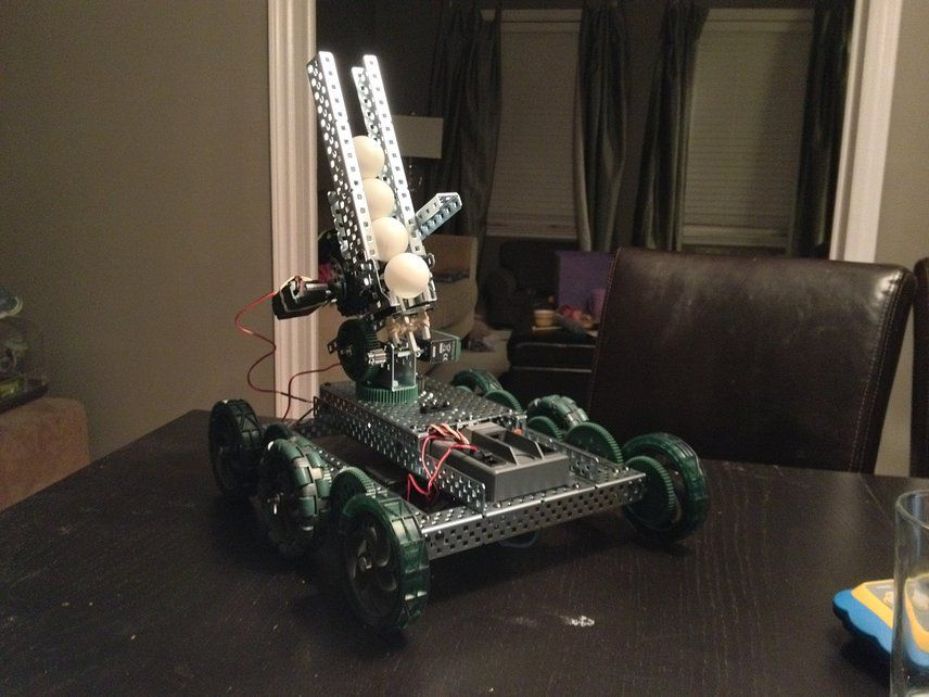 Build an epic ping pong ball shooter for you VEX EDR and compete in