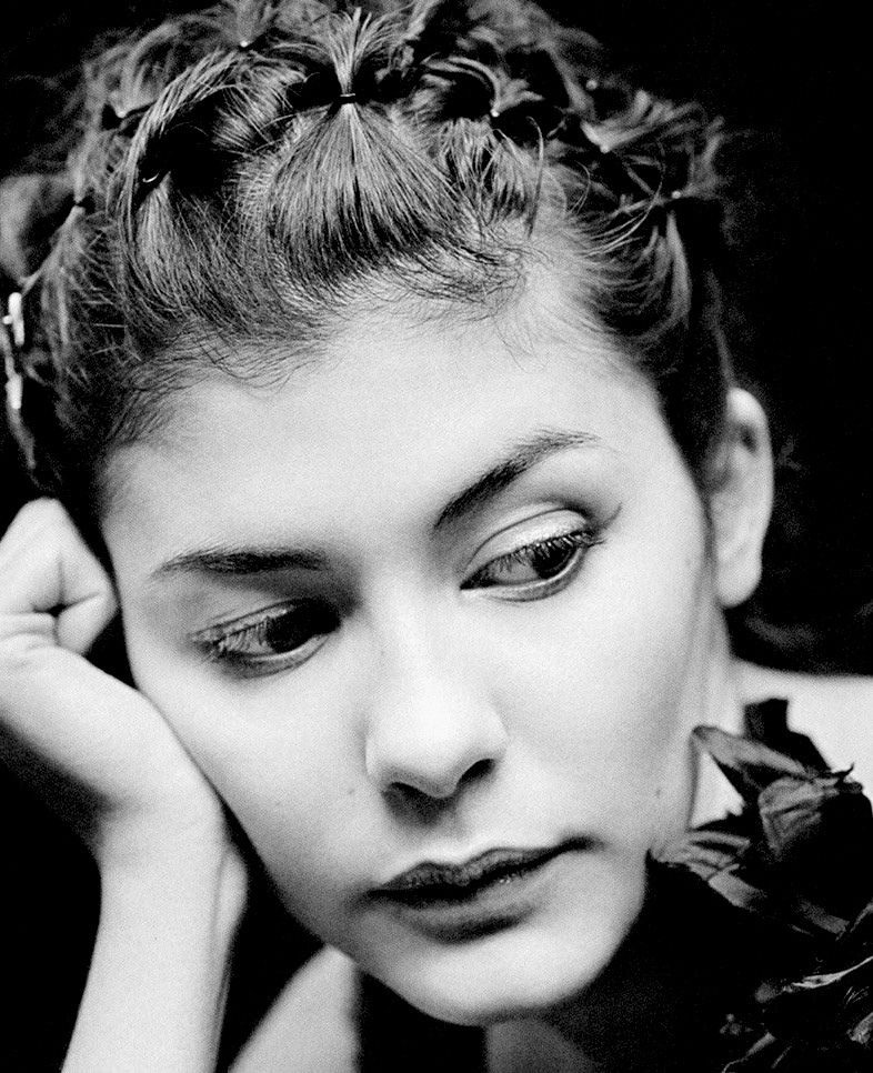 Audrey Tautou by Kate Barry
