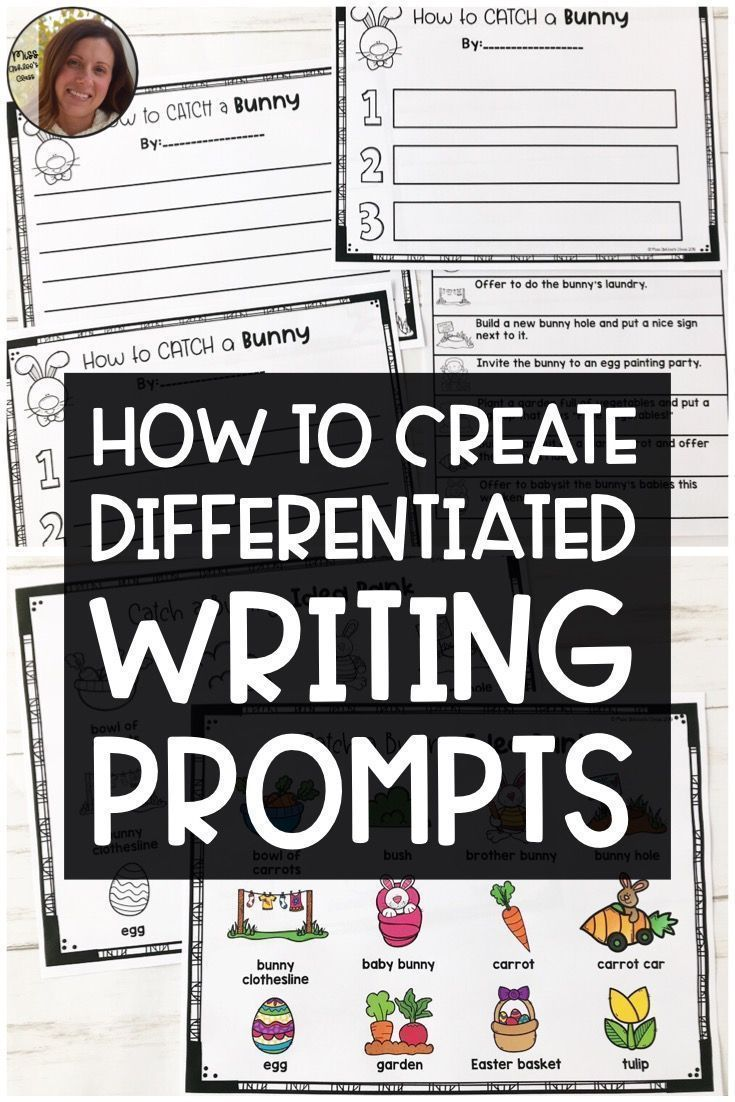 Create differentiated writing prompts for your special education classroom using... Create differen
