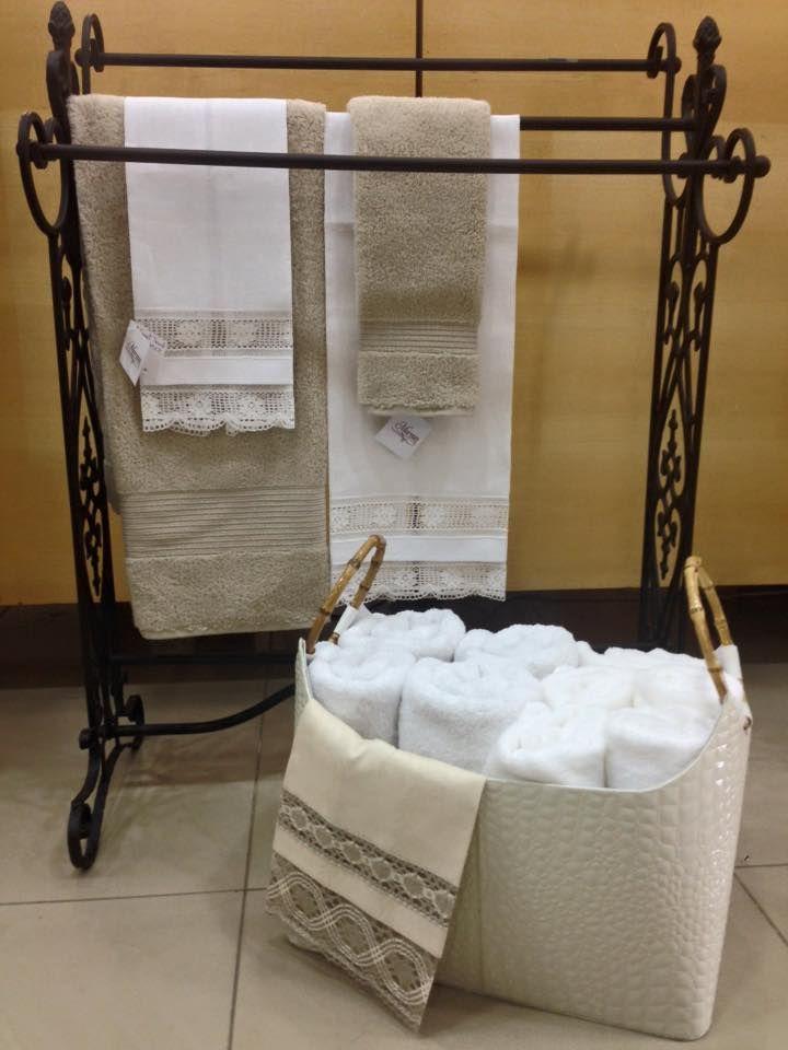 Hermosas maneras de exhibir tus toallas en tu ba o for Decoracion hogar banos