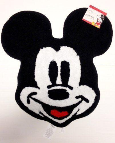 Disney S Mickey Mouse Bath Rug 25 5 X