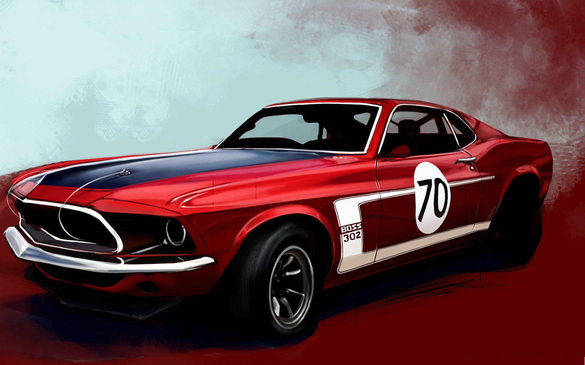 Classic Muscle Car Wallpaper With Images Mustang Wallpaper