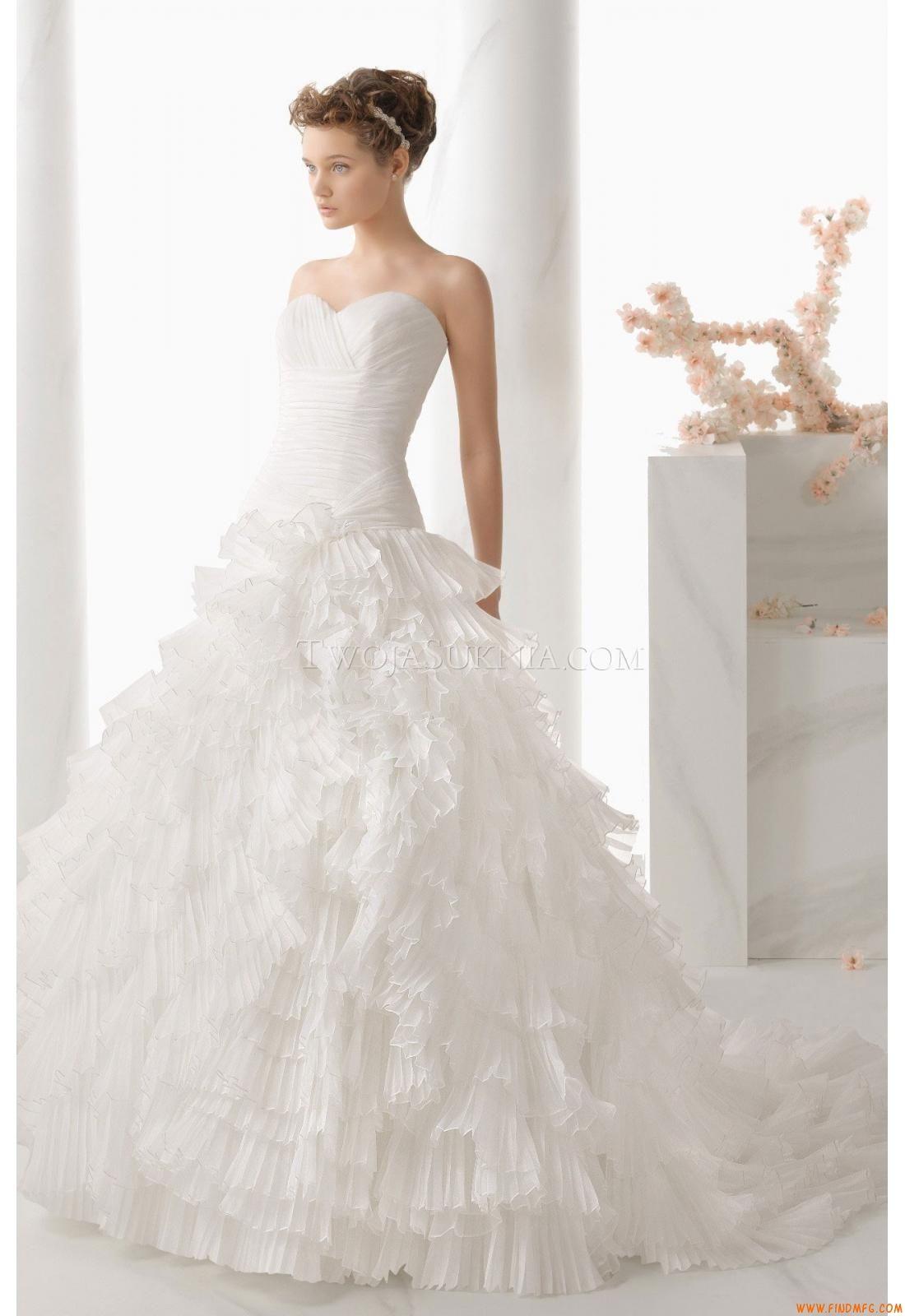9b8a65cd6 Vestidos de noiva Alma Novia 138 Nervion 2014 Noivado, Wedding Dresses  2014, Vestidos De