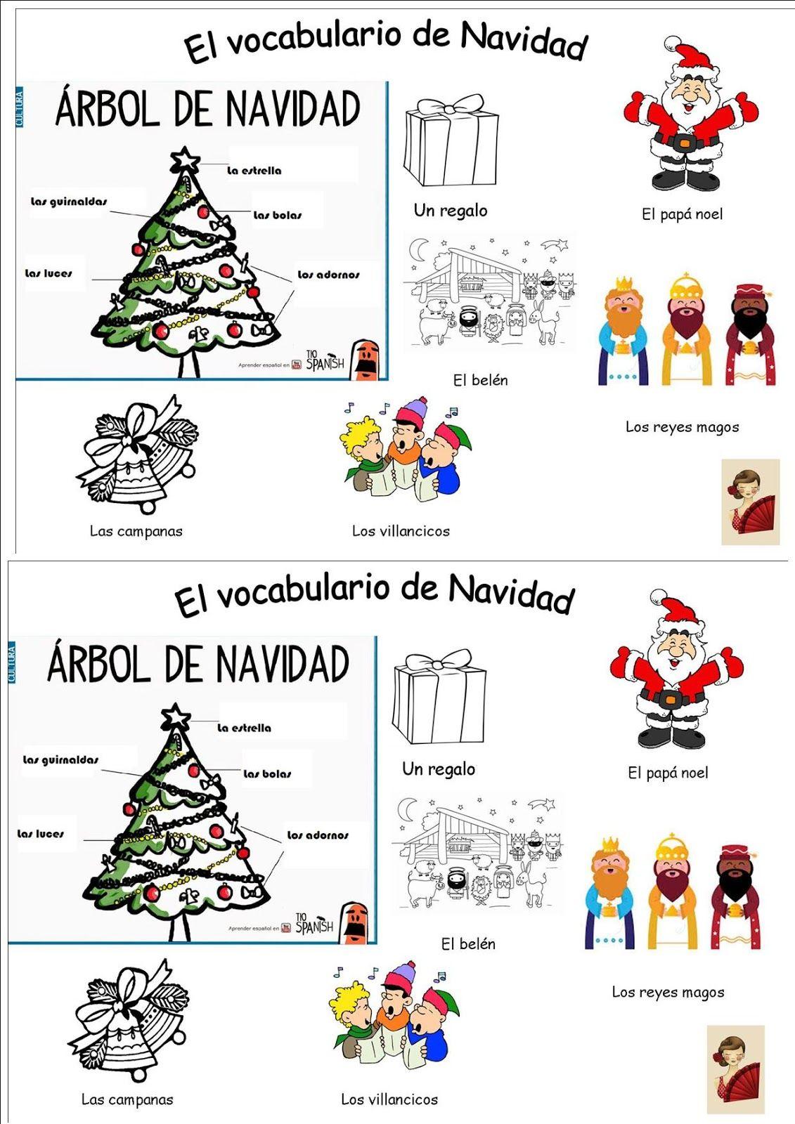 Noel En Espagnol Un blog sans prétention pour partager quelques documents et