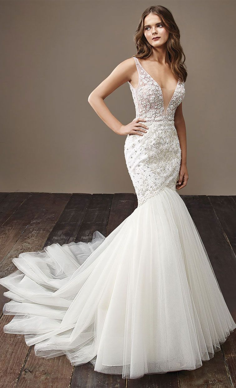 mermaid wedding gown Archives - Fabmood | Wedding Colors, Wedding ...