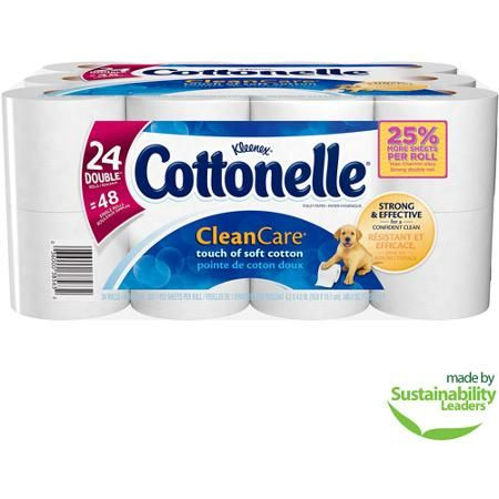 Cottonelle Clean Care, Bathroom Tissue Double Rolls